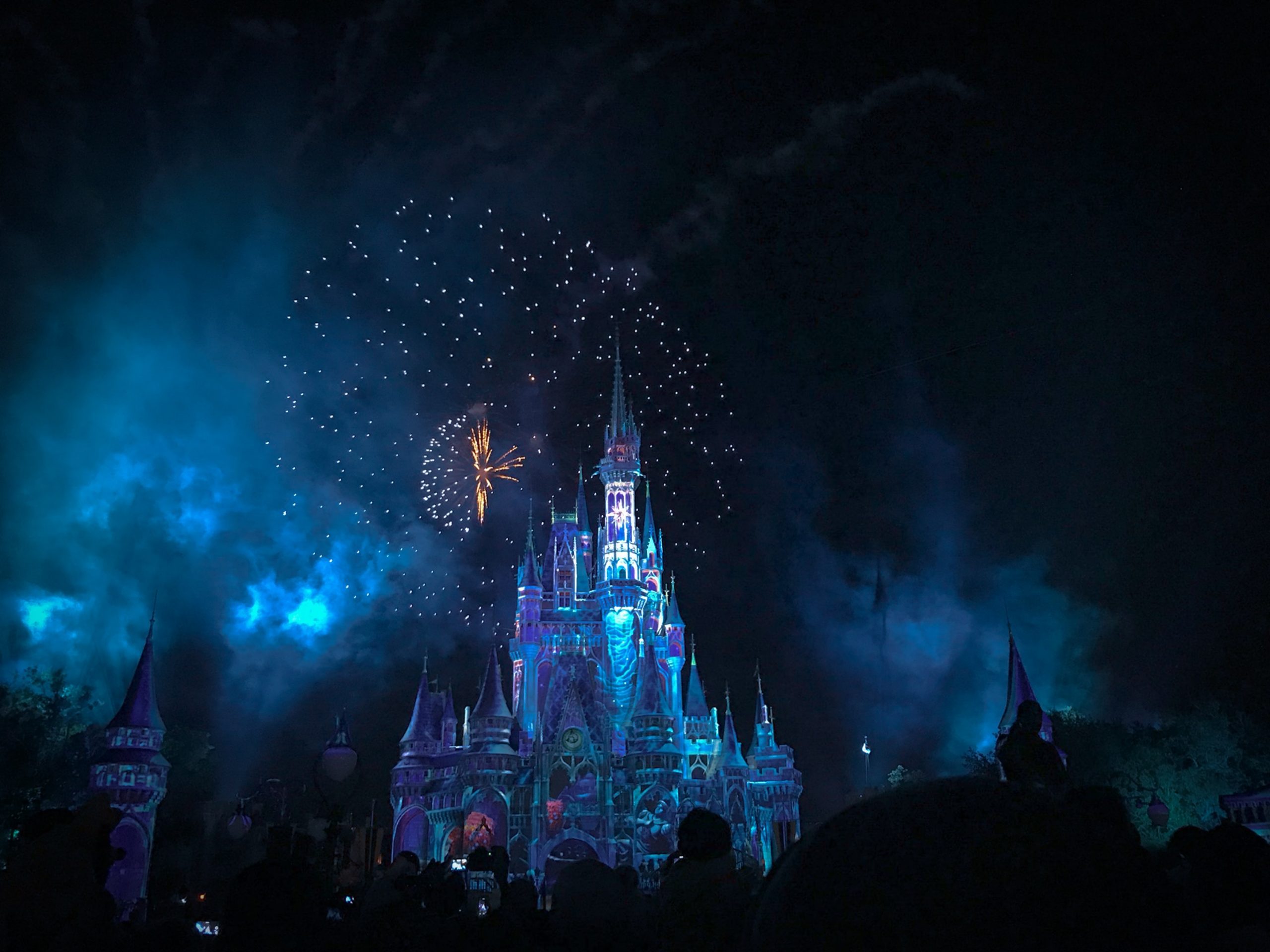 Disney Plus on TV Big screen